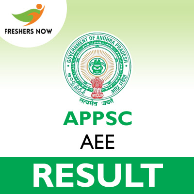 APPSC AEE Main Results 2020