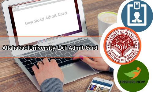 Allahabad University LAT Admit Card 2020 - AU Exam Date (Postponed)