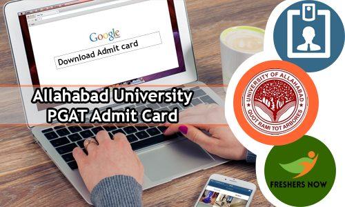 Allahabad University PGAT Admit Card 2020 | Exam Date (Postponed)