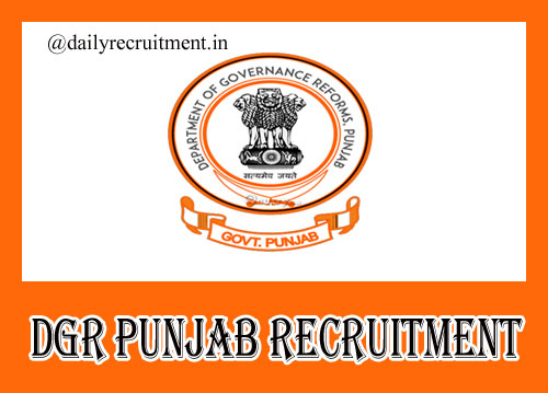DGR Punjab Recruitment 2020, Apply Online for 36 DGM, AGM & Other Vacancies @ dgrpg.punjab.gov.in