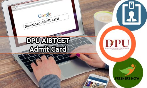 DPU AIET Admit Card 2020