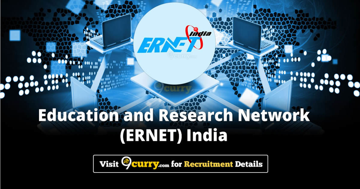 ERNET India Recruitment 2020 Apply Online Job Vacancies 07 June 2020