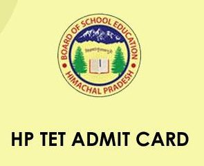 HP TET Admit Card 2021