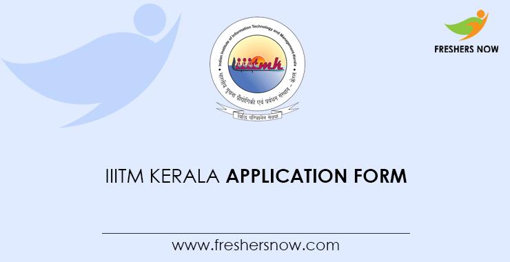 IIITM Kerala 2020 Free Job Alert