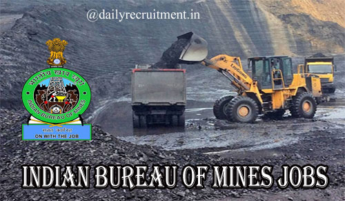 Indian Bureau of Mines Recruitment 2020