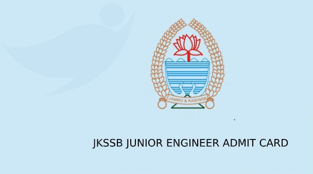 JKSSB JE Admit Card 2020