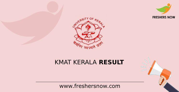 KMAT Kerala Results 2020