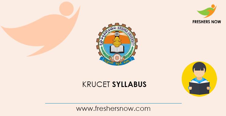 KRUCET Syllabus 2020 & Exam Pattern PDF Download