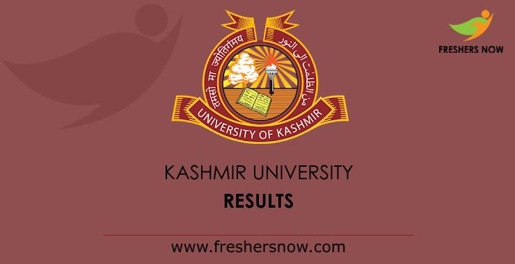 Kashmir University Result 2020 (Released)   B.A, B.Sc, B.Com, M.A, M.Sc
