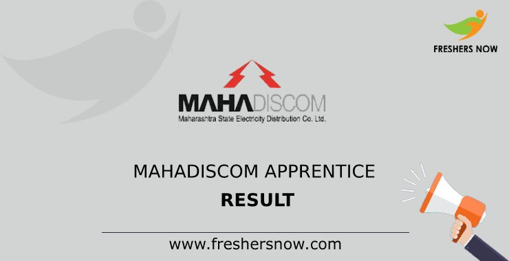 MAHADISCOM Apprentice Result 2020