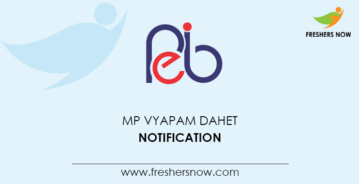 MP DAHET 2020 | Application Form, Exam Date (Out), Eligibility