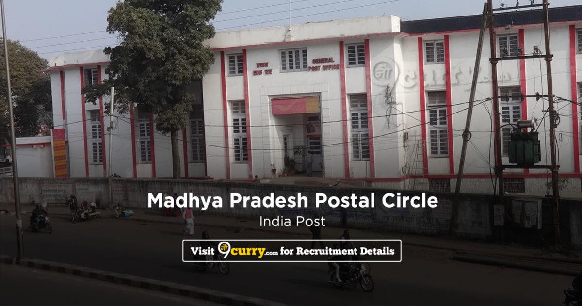MP Postal Circle Recruitment 2020 Apply Online 2,834 Job Vacancies 08 June 2020
