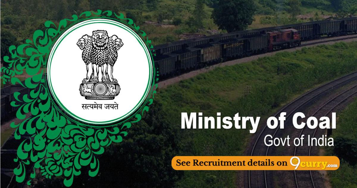 Ministry of Coal Recruitment 2020 Apply Online 55 Job Vacancies 14 June 2020