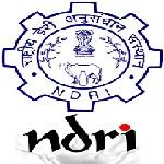 NDRI Jobs 2020 for SRF