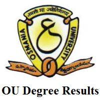 OU Degree, PG Results 2020 (Out) | Osmania University B.Sc, BA, M.Sc