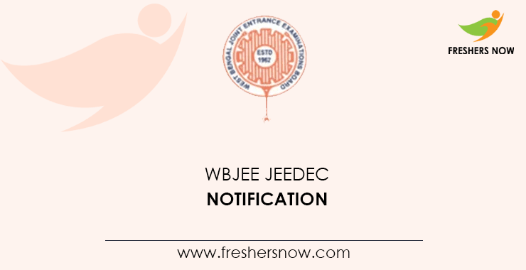 WBJEE JEEDEC 2020 | Application Form (Out), Exam Date, Eligibility