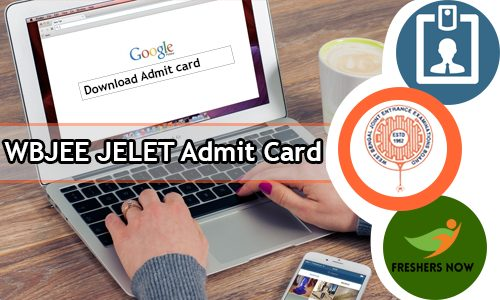 WBJEE JELET Admit Card 2020 | JELET Exam Date (Out) - wbjeeb.nic.in