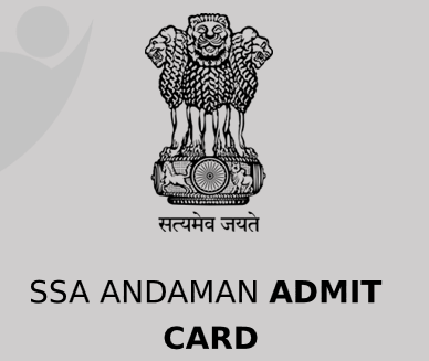 SSA Andaman Admit Card 2020