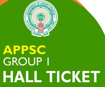 APPSC Group 1 Hall Ticket 2020