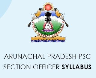 Arunachal Pradesh PSC Syllabus 2020