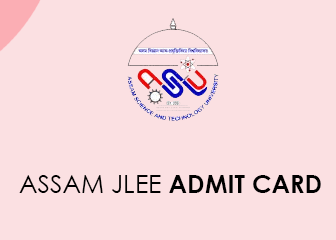 Assam JLEE 2020 admit card 2020