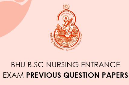 BHU B.Sc Nursing Entrance Exam previous questions Paper