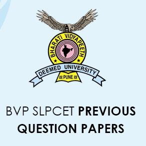 BVP SLPCET previous question papers