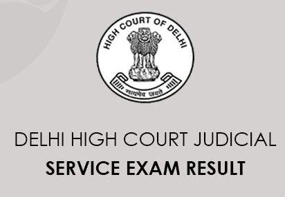 Delhi High Court Judicial Service Result 2020