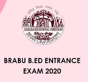 BRABU B.Ed Entrance exam 2020