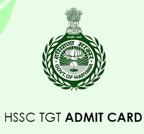 HSSC TGT Admit Card 2020