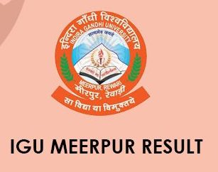 IGU Meerpur Result 2020