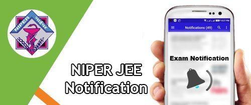 NIPER JEE 2020 Application