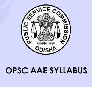 OPSC AAE Syllabus 2020