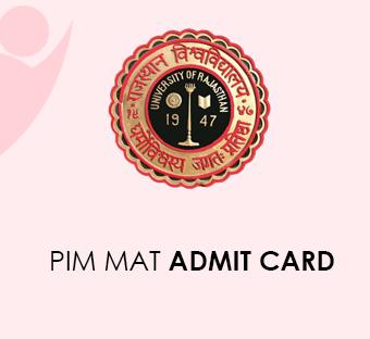 PIM MAT Admit Card 2020
