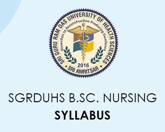 SGRDUHS B.Sc. Nursing Program 2020