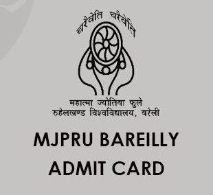 MJPRU Admit Card 2020