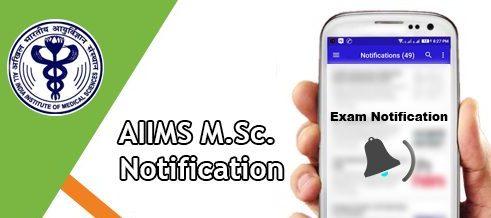 AIIMS M.Sc Nursing 2020