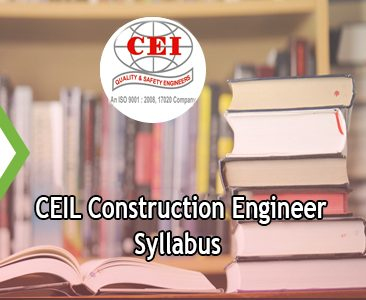 CEIL Construction Engineer Syllabus 2020