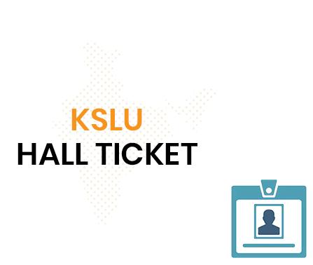 KSLU Hall Ticket 2020