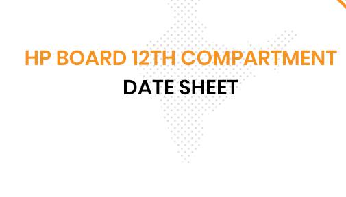 HP Board 12th Date Sheet 2020