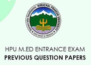 HPU M.Ed Previous Questions