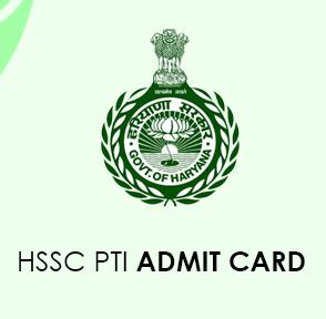HSSC PTI Admit Card 2020