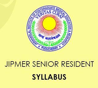 JIPMER Senior Resident Syllabus 2020