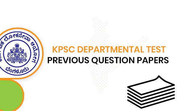 KPSC Departmental Exam Previous Questions Paper