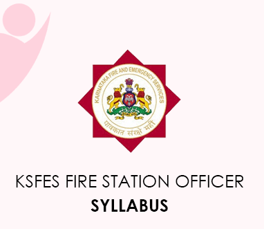 KSFES Fire Station Officer Syllabus 2020