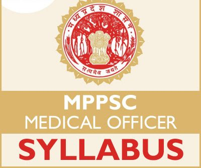 MPPSC Medical Officer Syllabus 2020