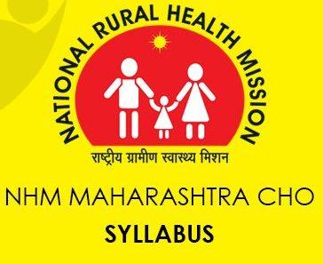 NHM Maharashtra CHO Syllabus 2020