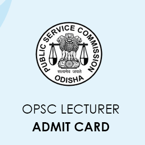 OPSC Lecturer Admit Card 2020