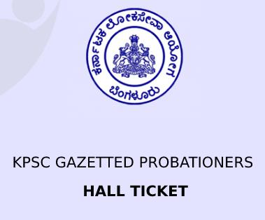 KPSC Official Admit card 2020