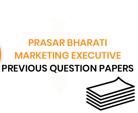 Prasar Bharati Marketing Executive Previous Questions Paper